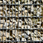 Gabionensteine verleichen dem Grundstück einen kreativen Look