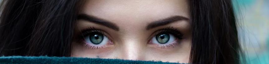Die Augen einer Frau