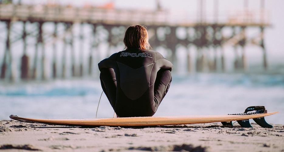Wenn mna sich wirklich frei fühlen möchte, dann sollte man surfen gehen.